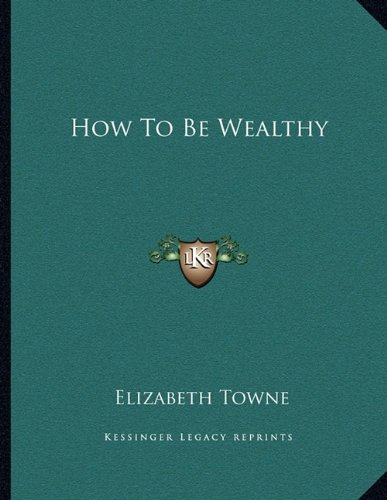 How To Be Wealthy pdf epub