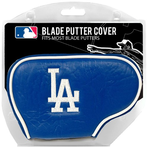 Team Golf MLB Los Angeles Dodgers Golf Club Blade Putter Headcover, Fits Most Blade Putters, Scotty Cameron, Taylormade, Odyssey, Titleist, Ping, Callaway
