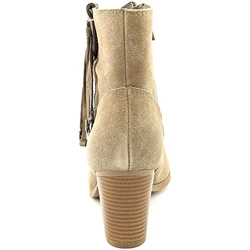 Bar III Jangle Damen Rund Wildleder Mode-Stiefeletten Taupe