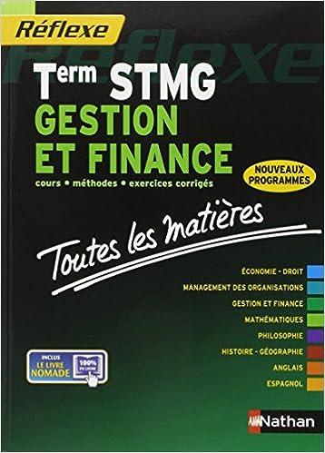 En ligne téléchargement Toutes les matières - Term STMG Gestion et finance pdf ebook