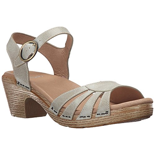 Sandali Con Tacco Donna Alla Moda Marlow Di Dansko, Calzature Eleganti, Moda Ostrica Lavata