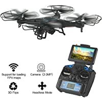 JTT-TOYS 5.8G FPV Real-time Transmission High Hold Mode One key Roll RC Quadcopter with 2.0MP HD Camera
