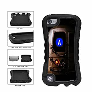 diy phone casePersonalized NYC Train Custom Letter A 2-Piece Dual Layer Phone Case Back Cover Apple iPod Touch 5th Generationdiy phone case