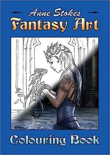 NEW ANNE STOKES UNICORN BOOK GORGEOUS FANTASY ART PAPERBACK BOOK