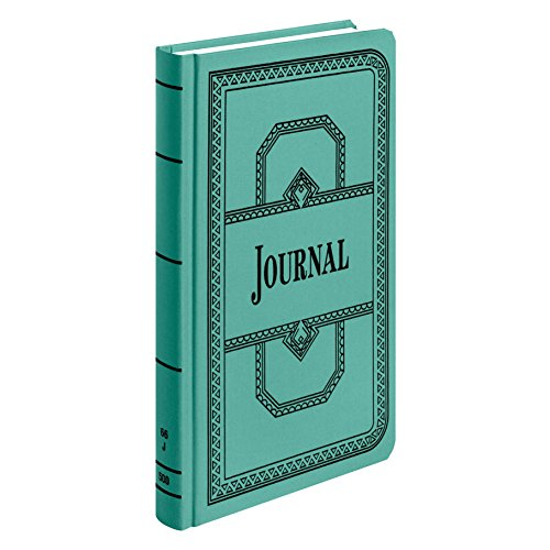 (Boorum & Pease 66 Series Account Book, Journal Ruled, Green, 500 Pages, 12-1/8