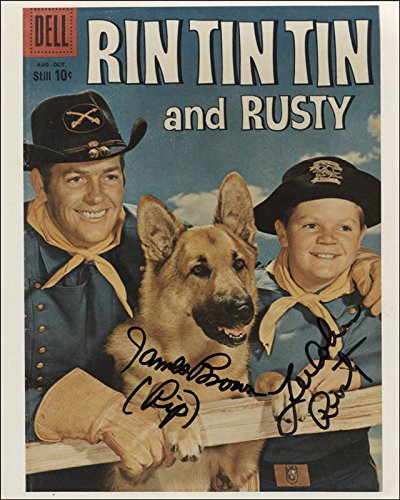 the-adventures-of-rin-tin-tin-tv-cast-photograph-signed-with-co-signers
