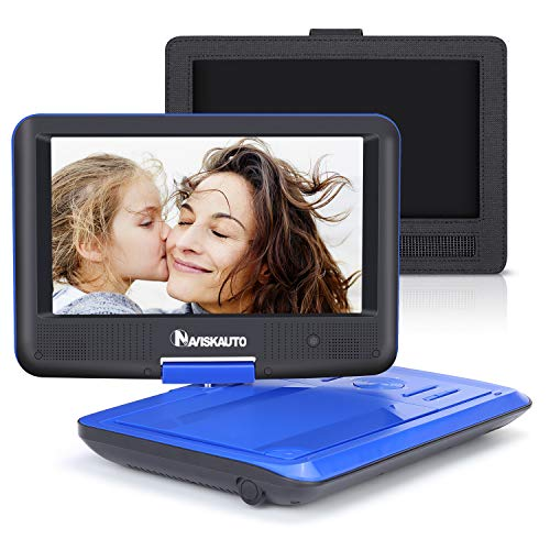 "9"" Portable DVD Player for Kids with Car Headrest Mount Hold"