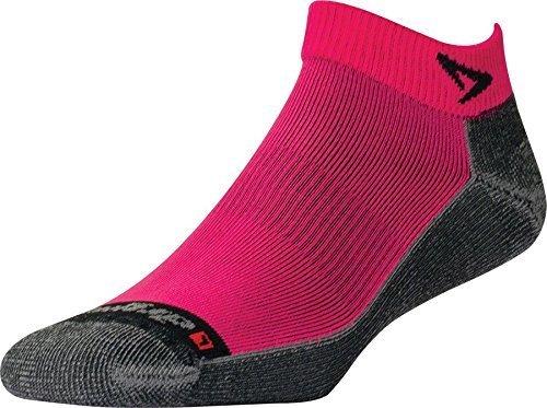 Lite Dual Vent (Drymax Lite Trail Run Mini Crew, October Pink/Anthracite, W10-12 / M8.5-10.5)