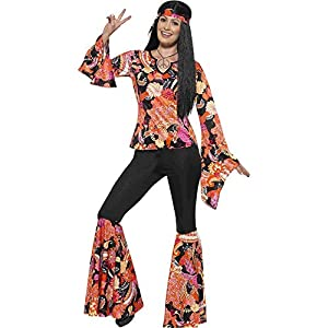 Smiffys Women's 1960's Willow The Hippie Costume