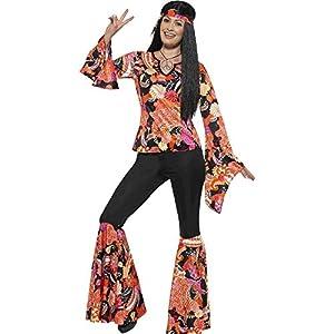 Smiffys Women's 1960's Willow The Hippie Costume