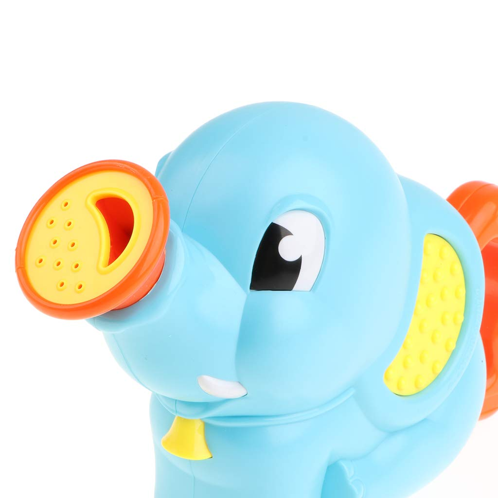 Amazon.com: B Blesiya Adorable Blue Elephant Water Spraying Toy Bath ...