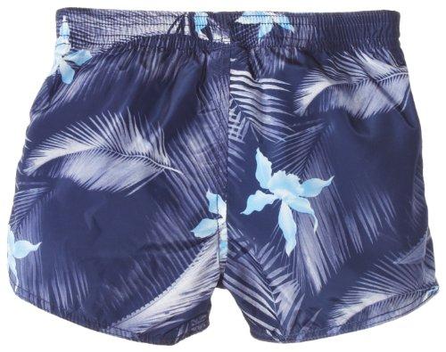Diesel Baby-Boys Newborn Mostum Swim Shorts with Hawaiin Print