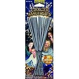 Cierges magiques - blister de 20 pièces - longueur 17 cm - longueur utile 8 cm - durée unitaire 45 secondes
