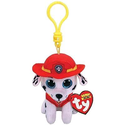 Ty Inc Paw Patrol MARSHALL - dalmatian dog clip: Toys & Games