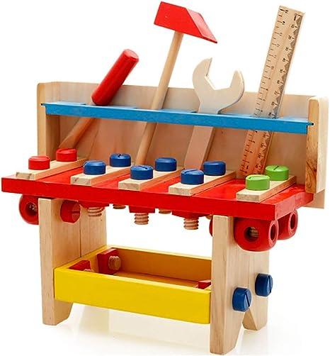 JW-YZWJ Herramienta de múltiples Funciones de Madera Mesa de niño ...