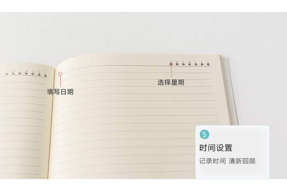 YWHY Cuaderno De Libro De La Mano De Cuaderno La Libreta De Mármol Cuadrado Cuadrado Horizontal Horizontal En Blanco Del Cuaderno De La Impresión De A5, D 6214ae