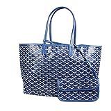 Stylesty Fashion Shopping PU Tote Bag, Designer Shoulder Handbags with Key Ring (Medium, Borland2)