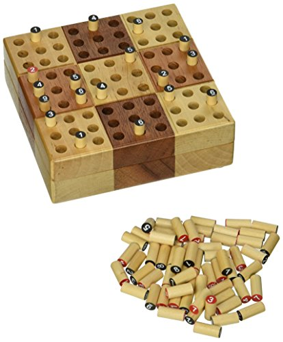 Elbert Wooden Travel Sudoku Set product image