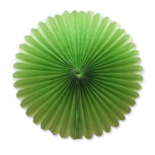 """WGI 8"""" Light Lime Green Tissue Paper Flowers"""