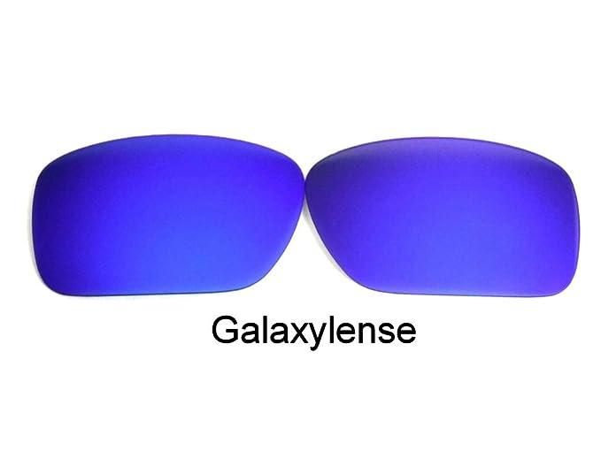 1fc5f431fa Galaxy Replacement Lenses For Oakley Turbine Blue Polarized 100% UVAB