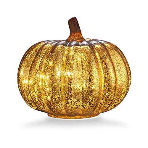 Glass Home Decor Pumpkin