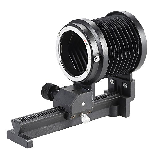 Nikon Bellows - Andoer Macro Extension Bellows Macro Focusing Focus Rail Slider for Nikon F Mount Lens D90 D80 D60 D7100 D7000 D5300 D5200 D5100 D3300 D3100 D3000 Al SLR
