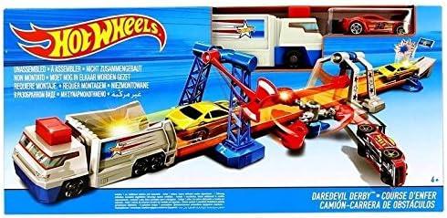 Mattel Hot Wheels Pista Carrera de Obstáculos: Amazon.es: Juguetes y juegos