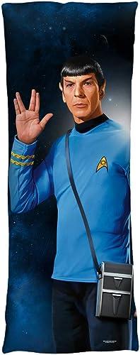 2Bhip Star Trek Sci-Fi TV Series Spock Salute Final Frontier Body Pillow