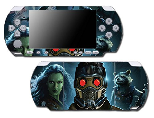 Guardians of the Galaxy Avengers Drax Star Lord Video Game Vinyl Decal Skin Sticker Cover for Sony PSP Playstation Portable Slim 3000 Series System (Psp 3000 Special Edition)