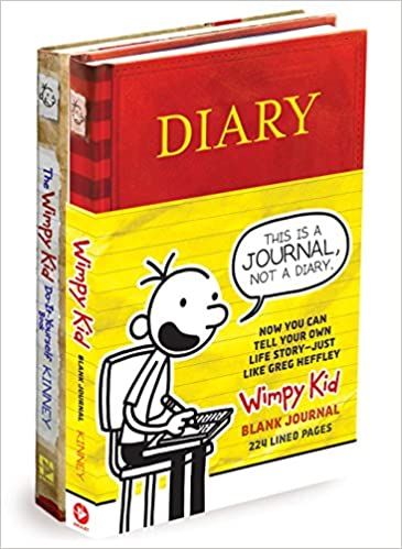Diary of a wimpy kid blank journaldiary of a wimpy kid do it diary of a wimpy kid blank journaldiary of a wimpy kid do it yourself book bundle amazon jeff kinney 9781419728891 books solutioingenieria Image collections