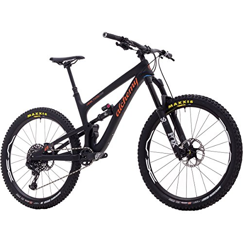 Alchemy Arktos 27.5 GX Eagle Complete Mountain Bike Black/Orange, L