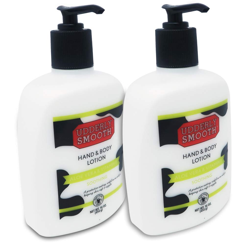 Udderly Smooth Hand & Body Lotion - 16 oz, Pack of 2 by Udderly Smooth