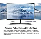 """[2 PACK] 24 inch Anti Glare(Matte) Screen Protector Compatible for All Brands of 24"""" Widescreen Desktop with 16:9 Aspect Ratio Monitor"""
