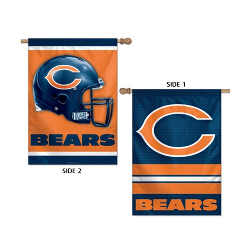 Two Sided Hanging Banner Flag - Chicago Bears 2-sided Banner Flag