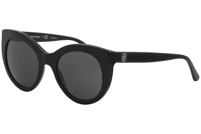 842157ebcf4 Amazon.com  Tory Burch Women s 0TY7115 51mm Black Dark Grey Solid One Size   Clothing