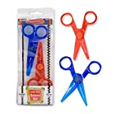 Melissa & Doug Child-Safe Scissors - Child-Friendly Scissors, Lefty and Righty, Set of 2