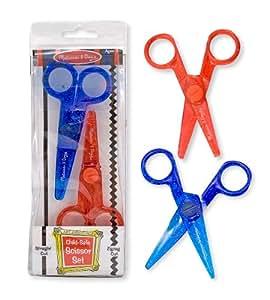 Melissa & Doug Child-Safe Scissor Set