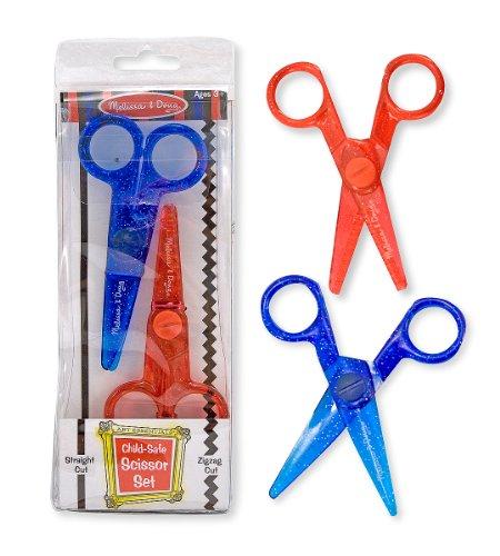 Melissa & Doug Child-Safe Scissor Set Doug Scissors Set