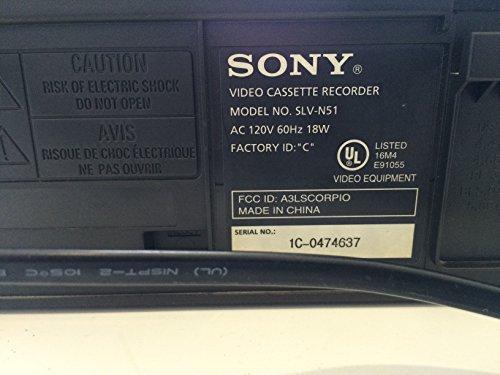 Electronics : Sony SLV-N51 4-Head Hi-Fi VCR