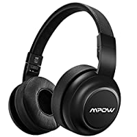 Mpow H2 Bluetooth Headphones w/4 Equalizer Modes, Hi-Fi Stereo Headphones On Ear, Both Wired & Wireless Headset Cell Phone/TV/PC