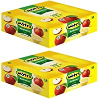 Mott's Original Applesauce, 4 oz, 18 count (Pack of 2)