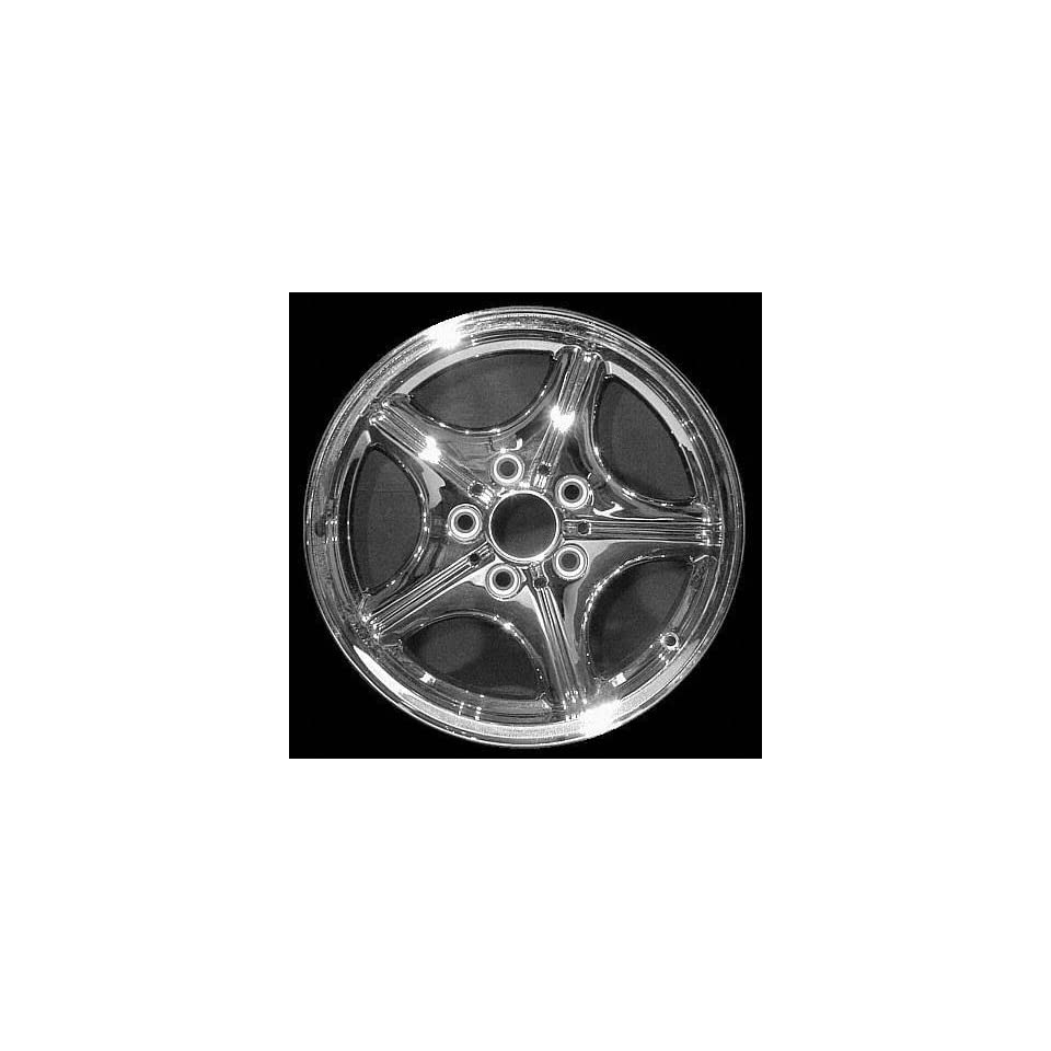 98 02 BMW Z3 ALLOY WHEEL RIM 16 INCH, Diameter 16, Width 7 (5 WEBBED SPOKE), 46mm offset Style #35, CHROME, 1 Piece Only, Remanufactured (1998 98 1999 99 2000 00 2001 01 2002 02) ALY59305U85