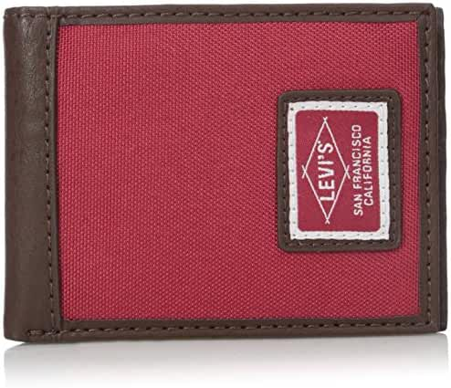 Levi's Men's Extra Capacity Slimfold Irving Wallet