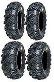 Full set of Sedona Mud Rebel 25x8-12 and 25x10-12 ATV Tir...