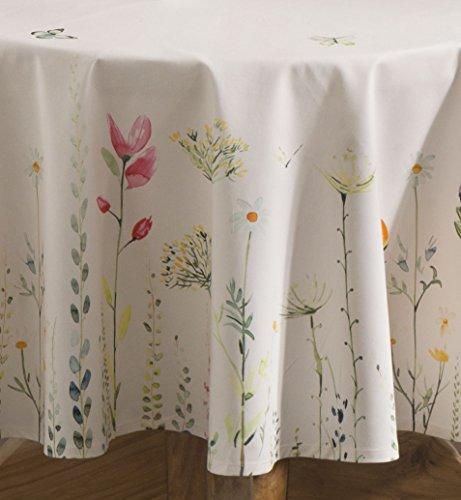 Maison D Hermine Botanical Fresh 100 Cotton Tablecloth
