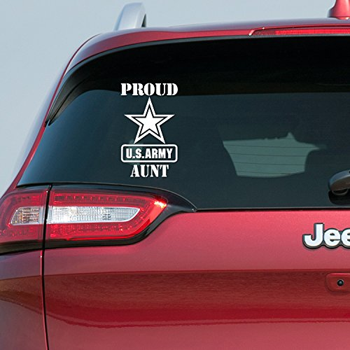 Proud US Army Aunt Vinyl Decal Sticker PA-01