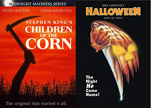 (The Night He and the Kids Come Home - Original Classics Horror Movie Bundle Children of the Corn & John Carpenter's Halloween 2-DVD)