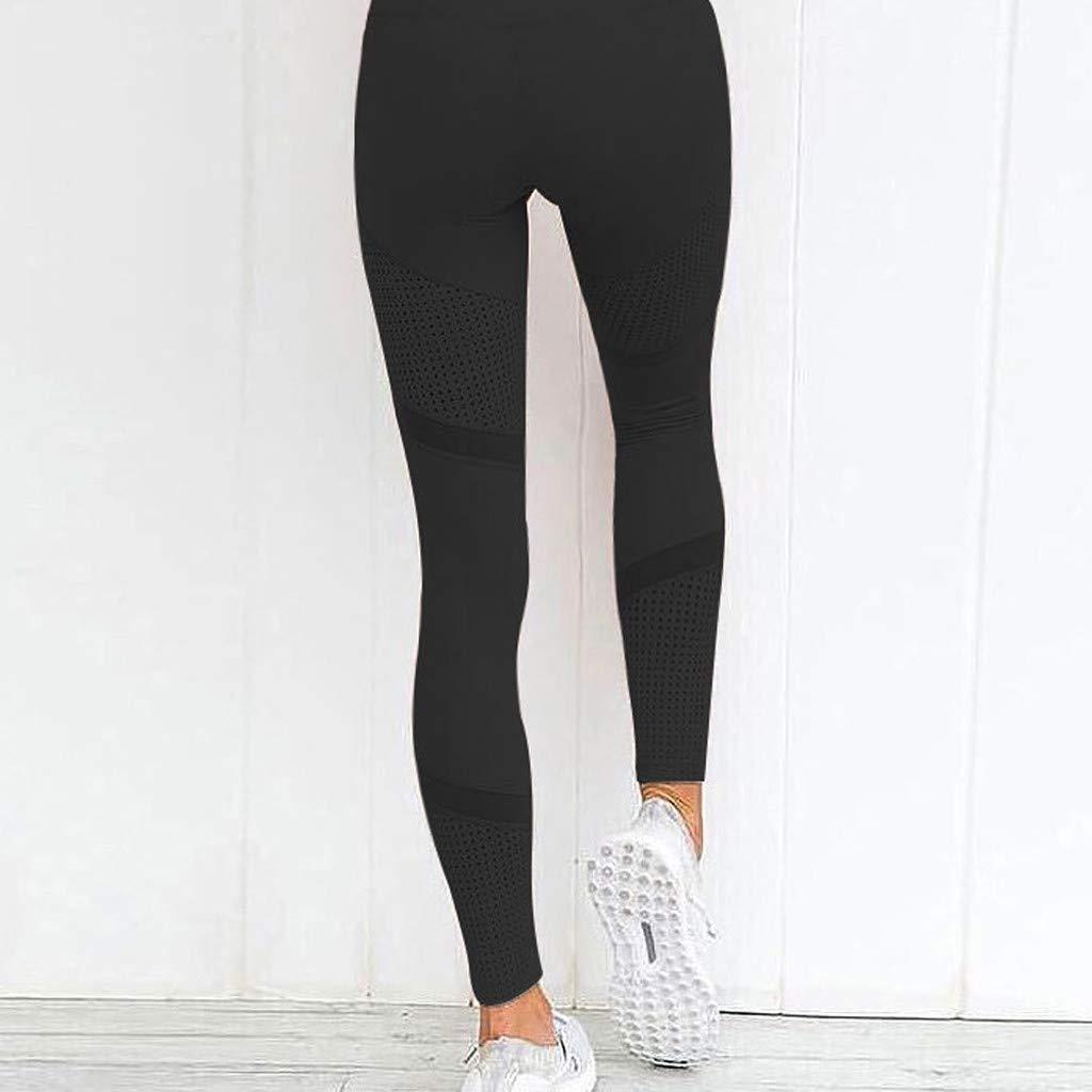 Damen Sporthose Sport leggings Tights Kurze//Lange geschnittene Baumwolle Leggings Komfortable Fitness Freizeithose Jogginghose Hose Sportswear Style