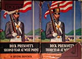 img - for Dick Prescott 2 Book Set - Dick Prescott's Second Year At West Point - Dick Prescott's Third Year At West Point - 1911 book / textbook / text book