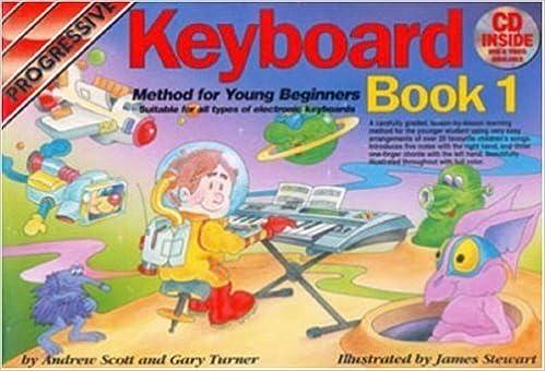 Young Beginner Keyboard Method Book 1 Bk//Cd